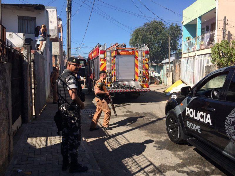 Incêndio em condomínio na Vila Torr...