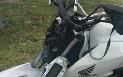 Homem morre após queda de motocicle...