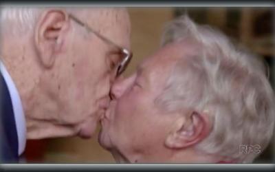 Ex-namorados se reencontram 72 anos...