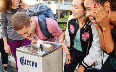 Jose Cuervo instala fontes de tequi...