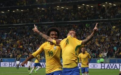 Brasil Campeão das Eliminatórias