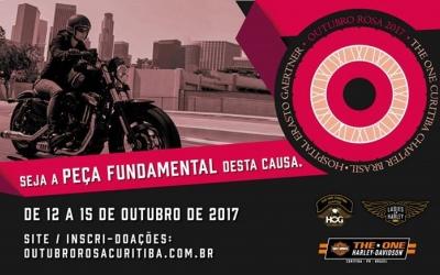 Curitiba recebe Harleyros de todo o Brasil em desfile pela vida