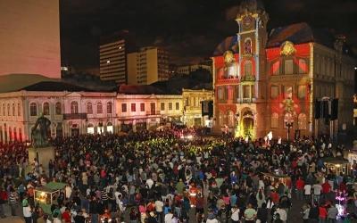 Programação do Natal de Curitiba en...
