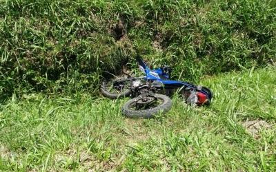Adolescente de 14 anos é atropelado por moto na BR-376