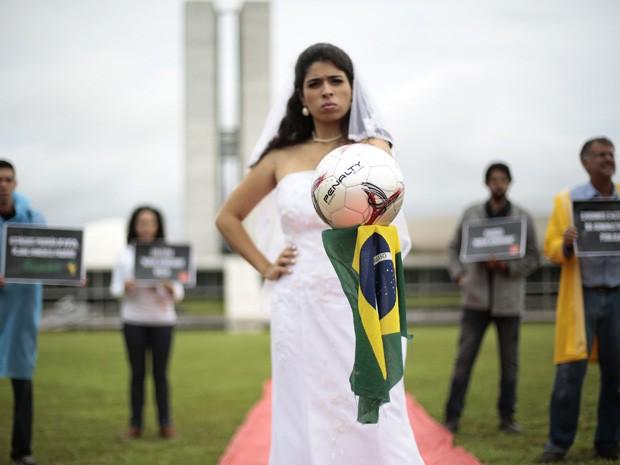 Eu não sou contra a Copa do mundo d...